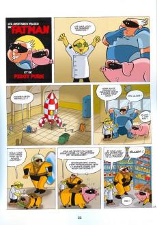 Extrait de Fatman - Les aventures vraies de Fatman et Piggy Pork