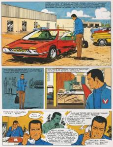 Extrait de Michel Vaillant -22a1976'- Rush