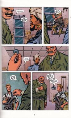 Extrait de The escapists (2006) -INT01- Michael Chabon Presents: The Amazing Adventures of the Escapist #1
