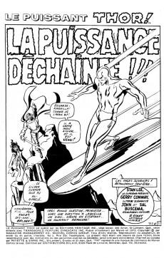 Extrait de Thor (Éditions Héritage) -3- La puissance déchaînée!!!