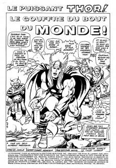 Extrait de Thor (Éditions Héritage) -7- Le gouffre du bout du monde!
