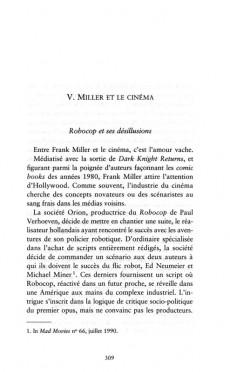 Extrait de (AUT) Miller - Frank Miller - Une biographie