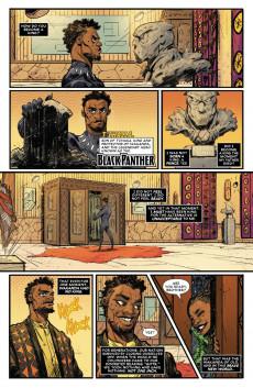 Extrait de Black Panther VS. Deadpool -1- Part One: A Small Misunderstanding