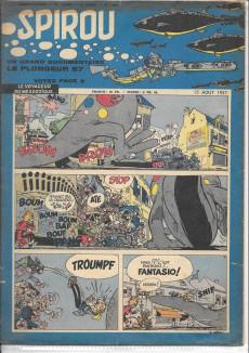 Extrait de (Recueil) Spirou (Album du journal) -63'- Spirou album du journal