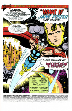 Extrait de True Believers: What If... (2018) - True Believers: What if Jane Foster had found the hammer of Thor ?