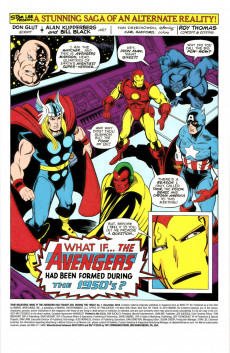 Extrait de True Believers: What If... (2018) - True Believers: What if the Avengers had fought evil during the 1950's ?