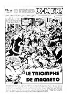 Extrait de X-Men (Éditions Héritage) -20- Le triomphe de Magnéto
