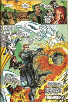 Extrait de X-Force Vol.1 (Marvel comics - 1991) - Demon from within