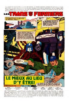 Extrait de Les transformers (Éditions Héritage) -10- L'aube du dévastateur