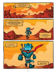 Extrait de Aventurosaure -1- Le réveil de Rex