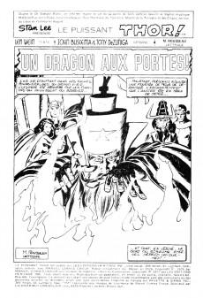 Extrait de Thor (Éditions Héritage) -6162- Un dragon aux portes!