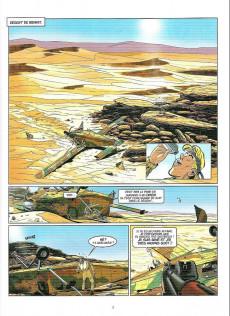 Extrait de Tanguy et Laverdure -32- Le sabre du désert