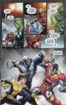 Extrait de Marvel Legacy - X-Men (Marvel France - 2018) -6- Hurlements