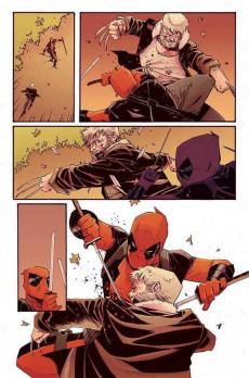 Extrait de Deadpool vs Old Man Logan - Le Clown et le vieux