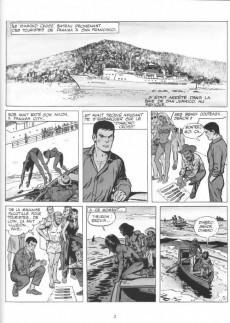 Extrait de Bob Morane 4 (Lefrancq) -14TL- Le club des longs couteaux