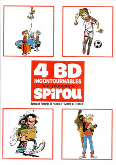 Extrait de 4 BD Incontournables du journal Spirou