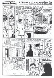 Extrait de Nestor Burma (Feuilleton) -13- Corrida aux Champs Elysées - Numéro 4