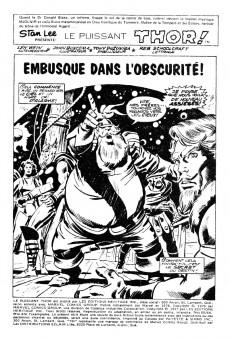 Extrait de Thor (Éditions Héritage) -6566- Embusque dans l'obscurité