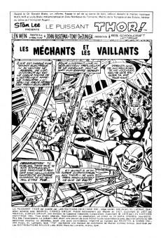 Extrait de Thor (Éditions Héritage) -6970- Les méchants et les vaillants!