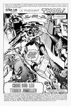 Extrait de Thor (Éditions Héritage) -8990- Crise sur les terres jumelles