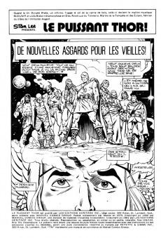 Extrait de Thor (Éditions Héritage) -103104- De nouvelles Asgards pour les vieilles!