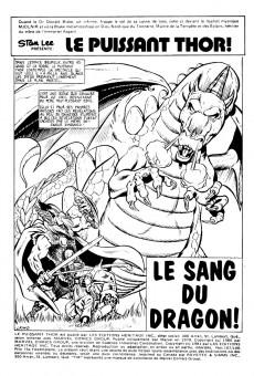 Extrait de Thor (Éditions Héritage) -107108- Le sang du dragon!