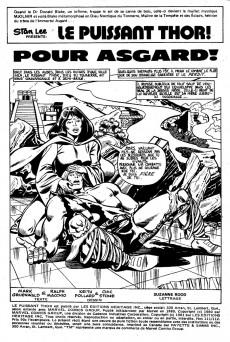 Extrait de Thor (Éditions Héritage) -111112- Pour Asgard!