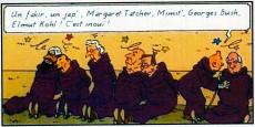 Extrait de Tintin - Pastiches, parodies & pirates -a- Tintin dans le golfe