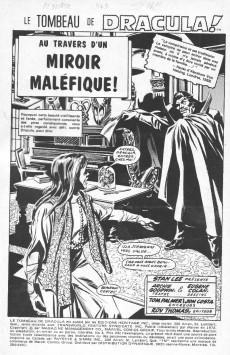 Extrait de Le tombeau de Dracula (Éditions Héritage)  -3- Au travers d'un miroir maléfique!