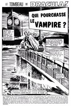 Extrait de Le tombeau de Dracula (Éditions Héritage)  -4- Qui pourchasse le vampire ?
