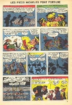 Extrait de Les pieds Nickelés (3e série) (1946-1988) -12c- Les Pieds Nickelés font fortune