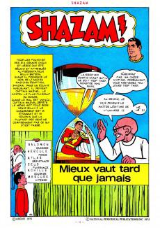 Extrait de Shazam! Les aventures de Captain Marvel -6- Mieux vaut tard que jamais