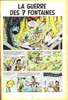 Extrait de Johan et Pirlouit -10c82- La guerre des 7 fontaines