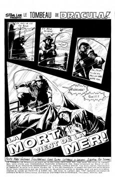Extrait de Le tombeau de Dracula (Éditions Héritage)  -9- La mort vient de la mer!