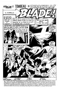 Extrait de Le tombeau de Dracula (Éditions Héritage)  -10- Il s'appelle... Blade!