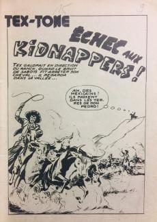 Extrait de Tex-Tone -6- Echec aux kidnappers!