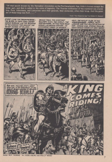 Extrait de Kull and the Barbarians (Marvel comics - 1975) -1- Kull and the Barbarians #1
