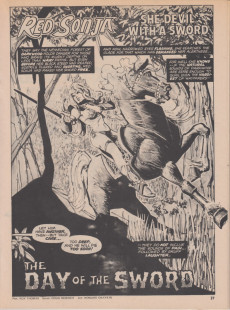 Extrait de Kull and the Barbarians (Marvel comics - 1975) -3- Kull and the Barbarians #3