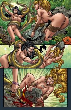 Extrait de Jungle fantasy - Vixens -1- Issue 1