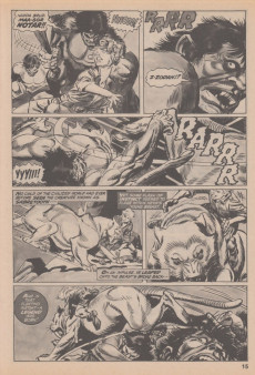 Extrait de Savage Tales (Marvel - 1971) -AN01- Savage Tales Featuring Ka-zar #12