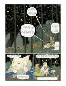Extrait de Dans la forêt des lilas