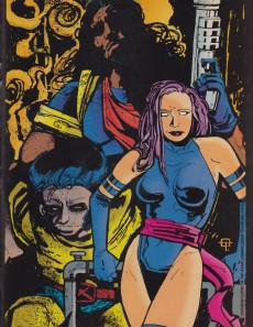 Extrait de X-men poster magazine -2- X-men poster magazine #2