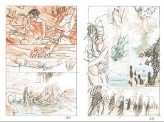Extrait de Layla - Conte des marais écarlates -HS- Le storyboard de jérémy