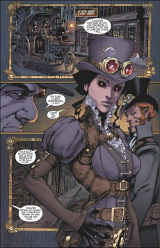 Extrait de Lady Mechanika -INT3- Intégrale cycle III - Edition collector