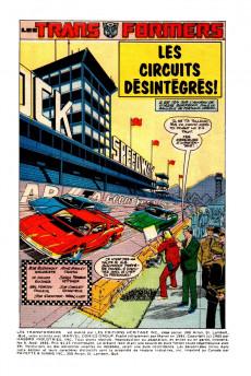 Extrait de Les transformers (Éditions Héritage) -9- Les circuits désintégrés!