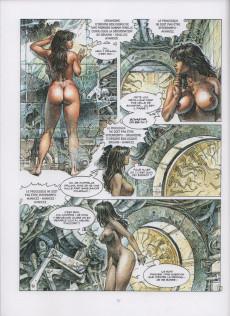 Extrait de Les grands Classiques de la Bande Dessinée érotique - La Collection -7045- Druuna - Tome 8 Clone