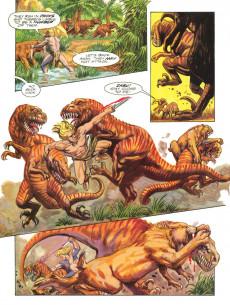 Extrait de Marvel Graphic Novel (Marvel comics - 1982) -62- Ka-Zar: Guns of the Savage Land
