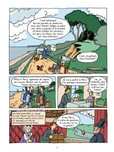 Extrait de L'histoire de l'art en BD -3- Monet et les impressionnistes
