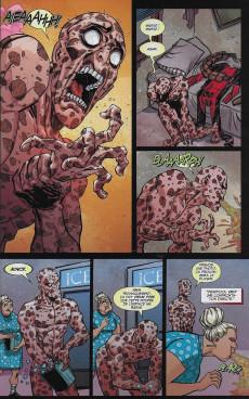 Extrait de Marvel Legacy - Deadpool (Marvel France - 2018) -7- L'univers Marvel massacre Deadpool