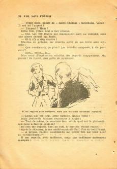 Extrait de L'hebdomadaire des grands récits -1- Jean Valhardi, détective : vol sans voleur...